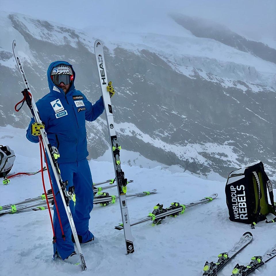 Jansrud si allena a Saas-Fee (con Ilka Stuhec) e pensa a Soelden, dove non ci sarà Tina Weirather