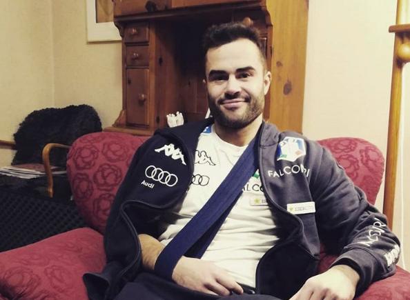 L'Italbiathlon perde Giuseppe Montello: dislocazione alla spalla destra e addio anticipato ad Oestersund