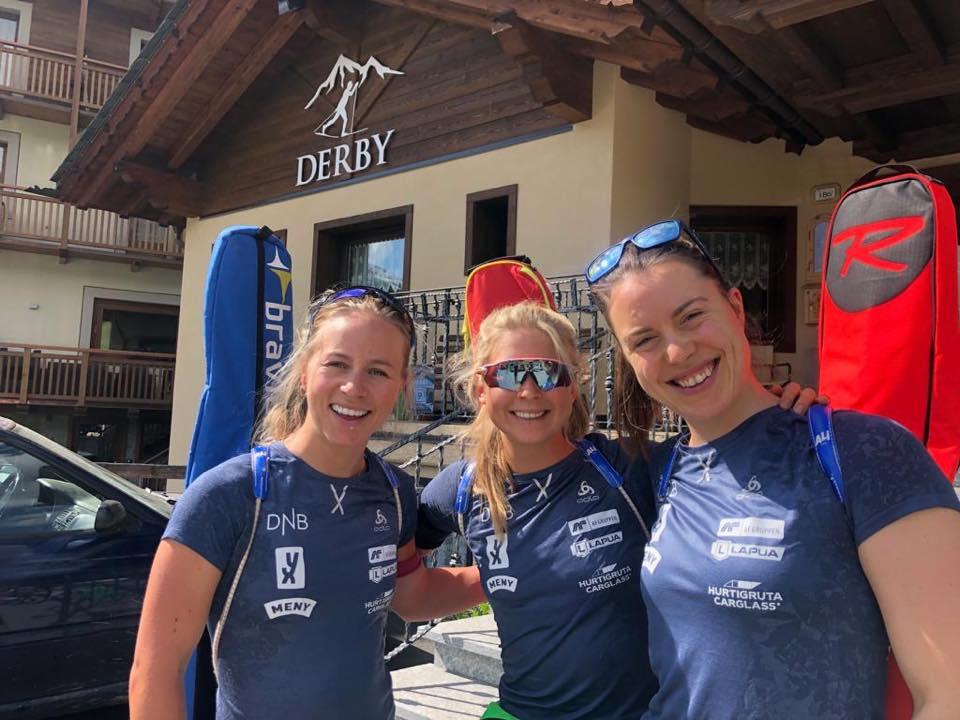 Sempre più biathleti in ritiro sulle Alpi: tedeschi in Val Martello, donne svedesi e norvegesi tra Dobbiaco e Livigno