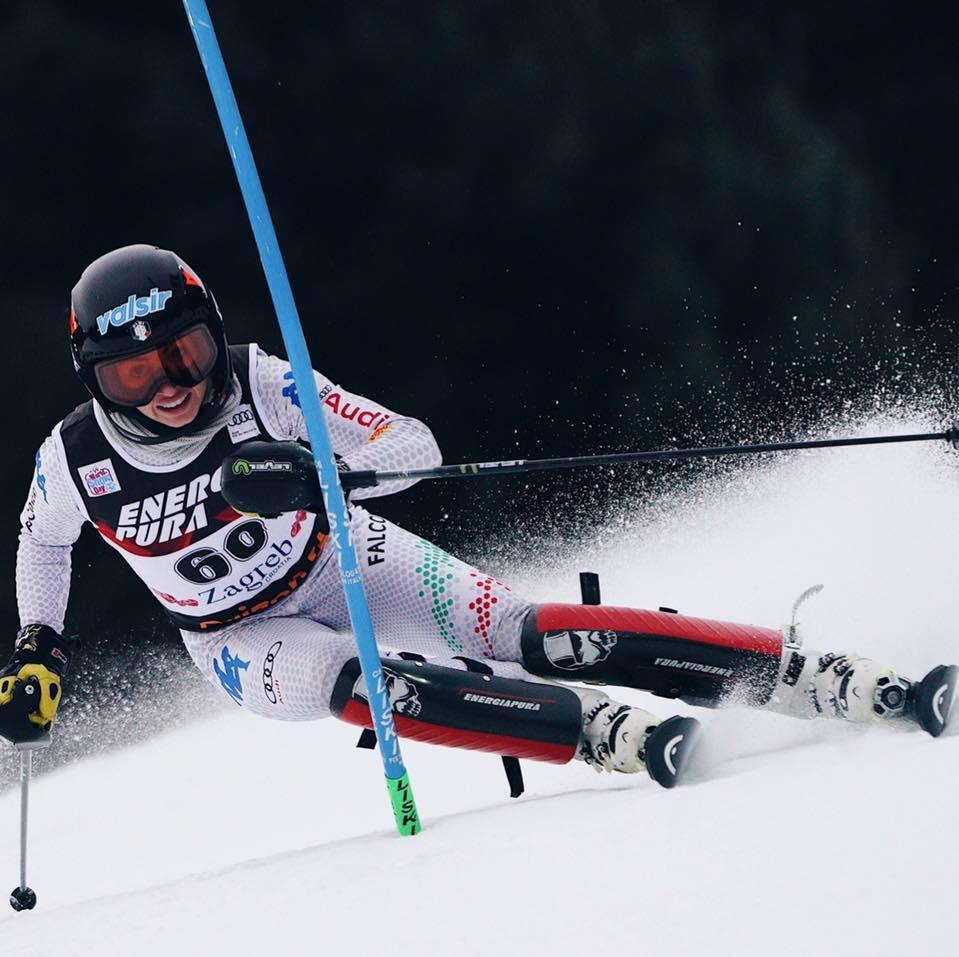 Marta Rossetti è sesta dopo la 1^ manche dello slalom bis di Funesdalen: comanda la britannica Guest