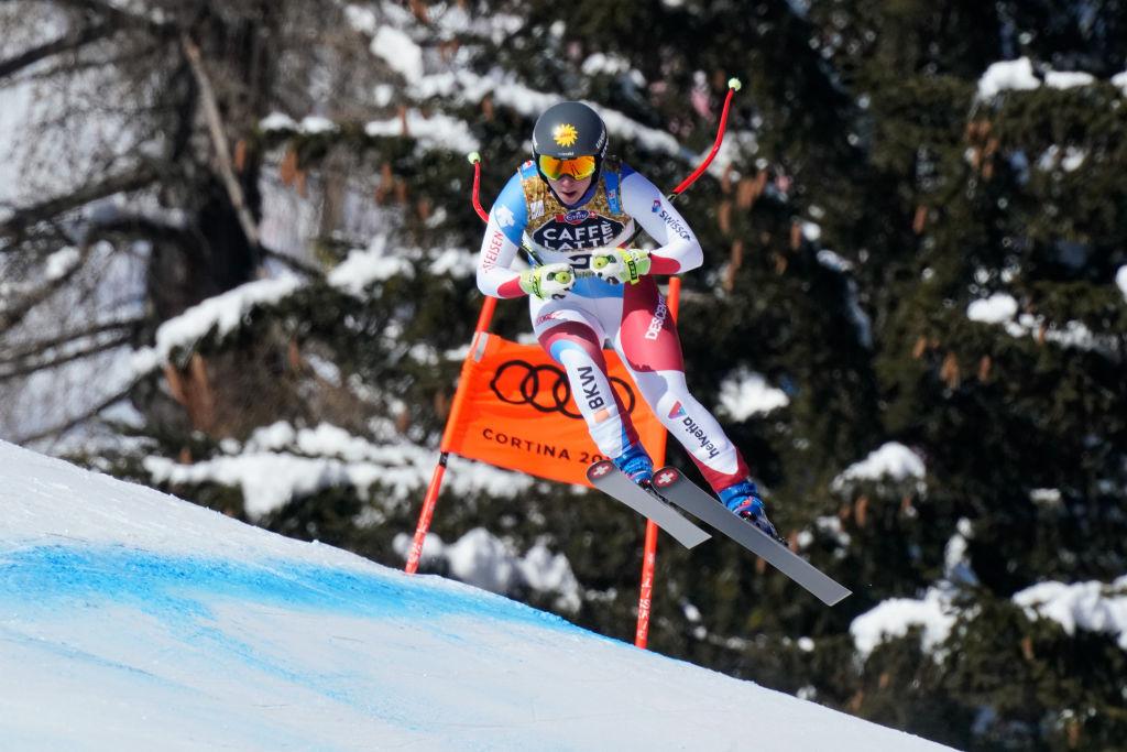 Coppa Europa: Jasmina Suter domina il primo super-g in Val di Fassa, Sosio..