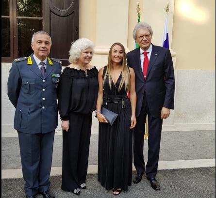 Dorothea Wierer ospite dell'ambasciata russa in Italia: 'Un paese che ama il biathlon'