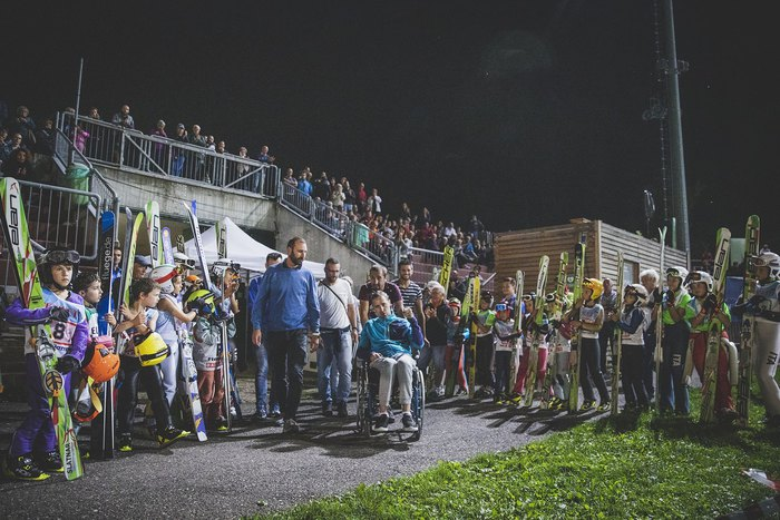Tutti al fianco di Matteo Antico: serata magica a Predazzo per fare un salto di solidarietà