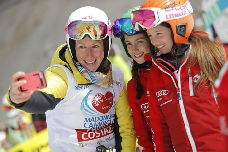 Sciare col Cuore, che festa a Campiglio coi campioni: vince il team di Laura Pirovano