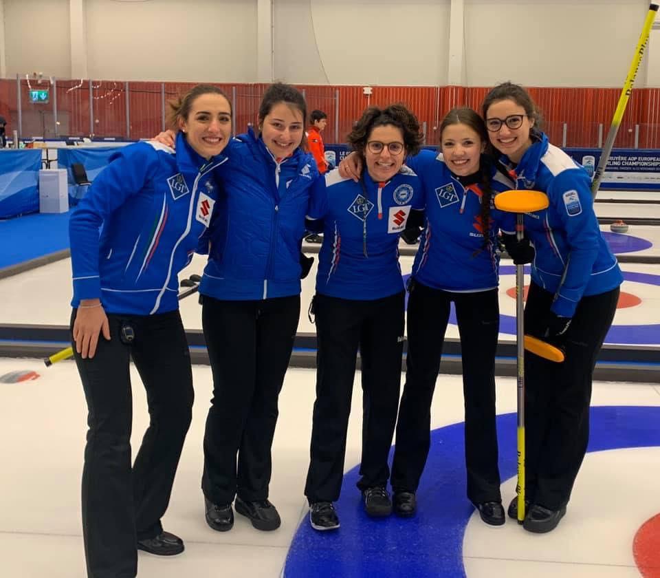 L'Italcurling rosa chiude vincendo anche la finale del gruppo B; Svezia campione in casa con uomini e donne