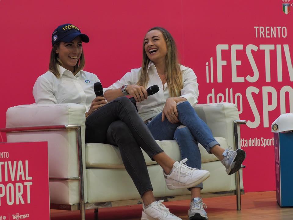 'Il Festival dello Sport' chiude con le donne della neve: da Wierer-Vittozzi alla valanga rosa con Deborah Compagnoni
