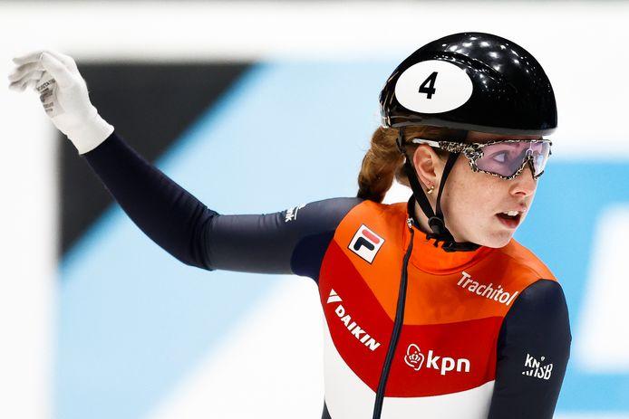 Morta Lara van Ruijven, campionessa del mondo di short track
