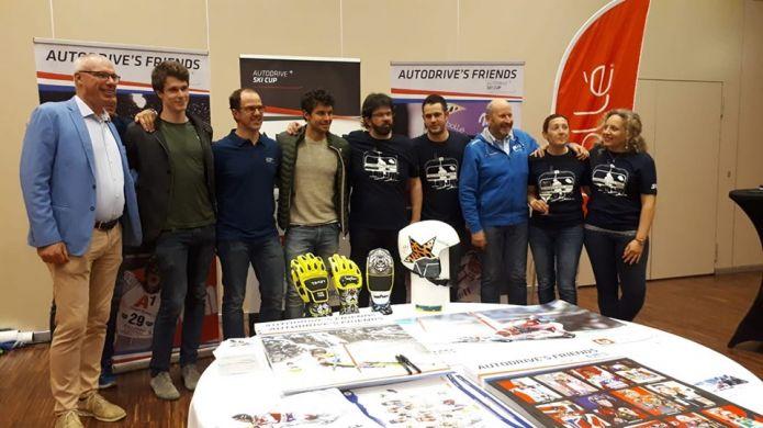 A Treviso la grande festa dei giovani vincitori dell'Autodrive Ski Cup con Clement Noel, Anna Veith e gli azzurri