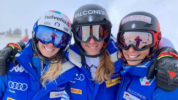 Conclusi dieci giorni senza intoppi per il 'trio delle meraviglie': Goggia, Brignone e Bassino lasciano Les Deux Alpes