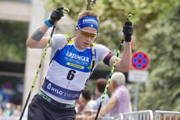 Show dei fratelli Boe al City Biathlon, Lukas Hofer c'è all'esordio con un buon 4° posto