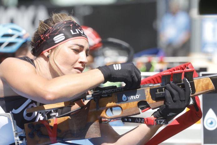 Dorothea Wierer ha gareggiato a Wiesbaden in condizioni... critiche: 'Atmosfera super, sogno un evento così in Italia'