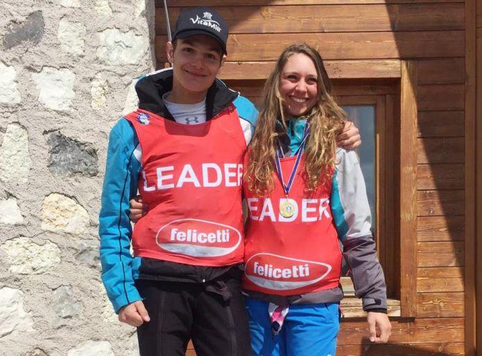 Collini-Vianello e Rizzi-Marinozzi chiudono la stagione in Trentino conquistando i regionali di slalom