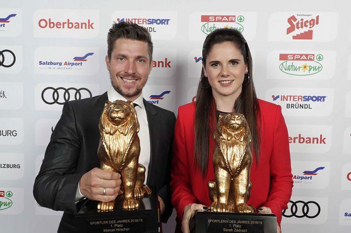 Marcel Hirscher premiato per la settima volta sportivo salisburghese dell'anno. Titolo sfiorato per papà Ferdinand