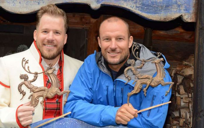Svindal e Jansrud ricevono il Peer Gynt Award, simboli di una Norvegia vincente