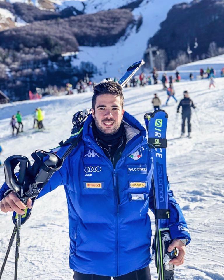Giordano Ronci dice basta: lo slalomista venuto dalla Capitale annuncia il ritiro