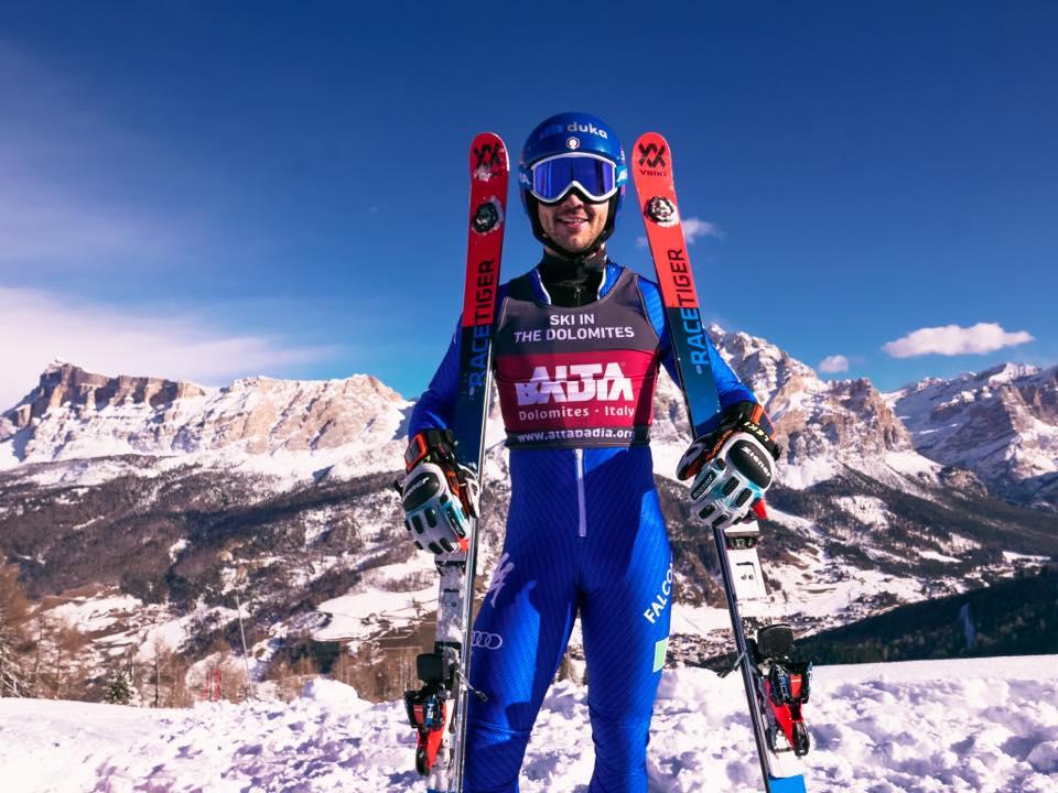 Slalom FIS a Pozza di Fassa, c'è lo squillo di Alex Zingerle davanti ai giovani azzurri
