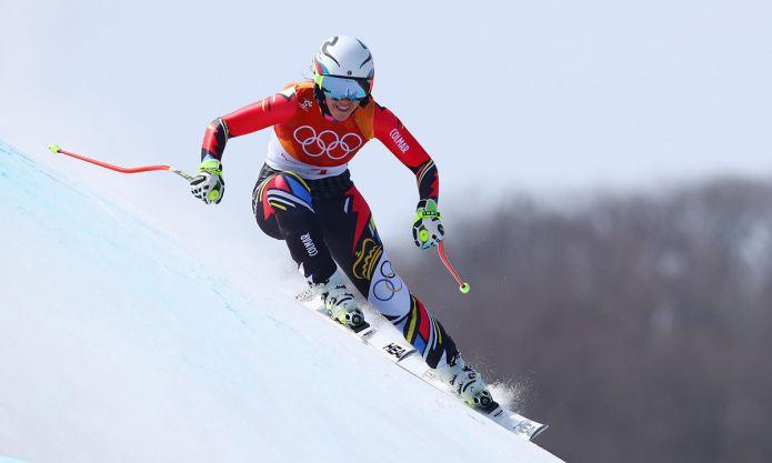 Tina Weirather a Pyeongchang2018
