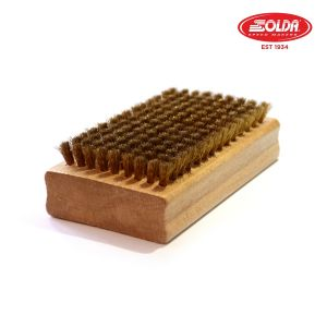 Prezzi Solda flat brush brass - 110x65mm