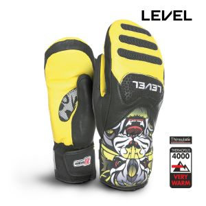 Prezzi Level - Junior\'s SQ CF Mitt - Yellow
