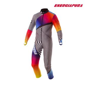 Prezzi Energiapura - Ski Race Suit- Rainbow Optical Thermic Light - Y807 Rainbow Optical