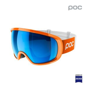 Prezzi Poc - Fovea Clarity Comp - Ski goggles - Zink Orange / Spectris Blue