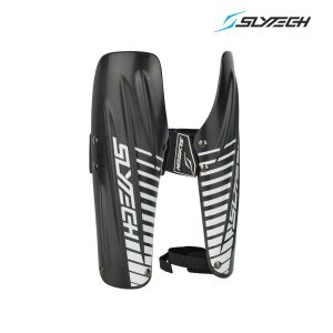 Prezzi Slytech - Carbon Arm Guards STD - Charcoal/White