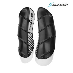 Prezzi Slytech - Carbon Shin Guards XTD - Charcoal/White