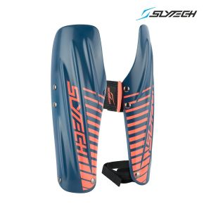 Prezzi Slytech - Arm Guards Rust STD - Navy Neon